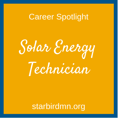 solar energy technician 1