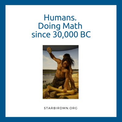 humans and math