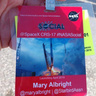 #NASASocial badge