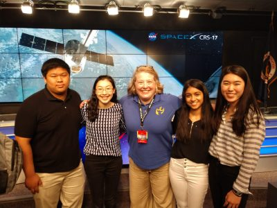 Genes in Space Winners with Mary Albright from the Starbird Association