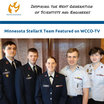 MN StellarX Team Featured on WCCO TV